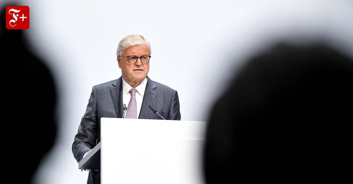 Bayer-Aufsichtsratschef Werner Wenning im Interview