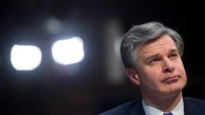 FBI widerspricht Weißem Haus im Fall Porter