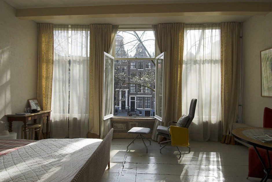 Lichter Ein- und Ausblick in Amsterdam.