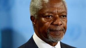 Annan will neue Syrien-Kontaktgruppe