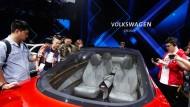 Hier interessieren sich die Chinesen noch für Volkswagen. Inzwischen schwächelt der Absatz aber.