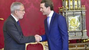 Österreich will rasche Neuwahlen