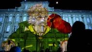 Ein Lichterfest in Lyon, aber Sicherheit geht vor