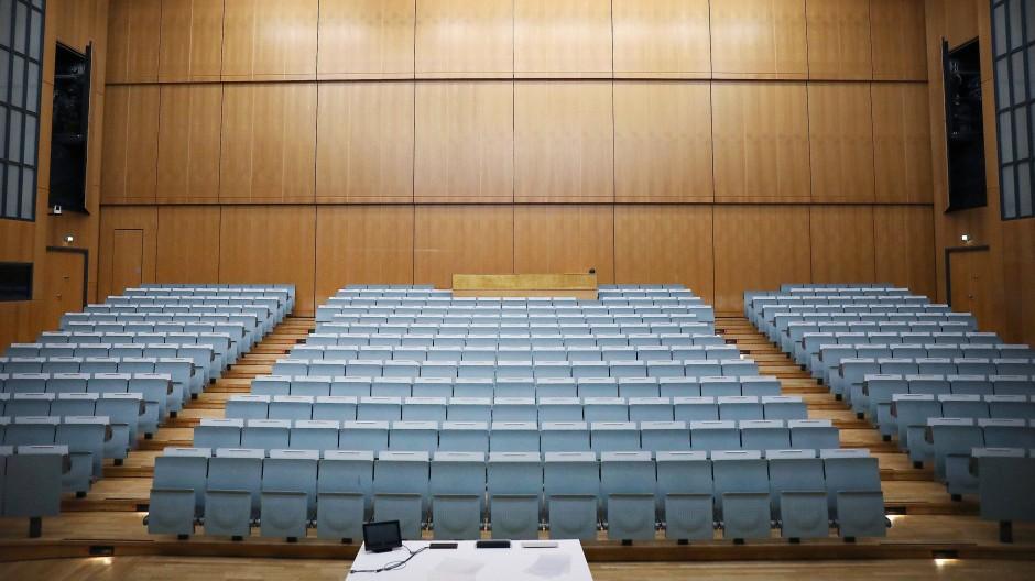 Auch im vergangenen Sommersemester sind die meisten Hörsäle an deutschen Hochschulen leer geblieben. (Symbolbild)