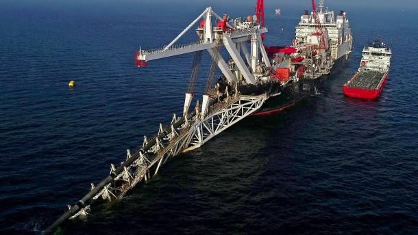 """Nord Stream 2 wird """"nie russisches Gas transportieren"""""""