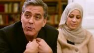 George und Amal Clooney treffen Flüchtlinge