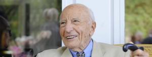 Der frühere Bundespräsident Walter Scheel, 1919-2016