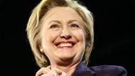 Präsidenschaftskandidatin Hillary Clinton