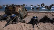 Amerika und Südkorea proben den Ernstfall