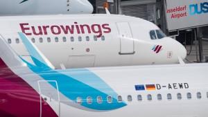 Verletzte bei Eurowings-Flug