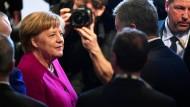 Bundeskanzlerin Angela Merkel (CDU) auf der Münchner Sicherheitskonferenz