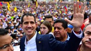 Guaidó zurück in Venezuela