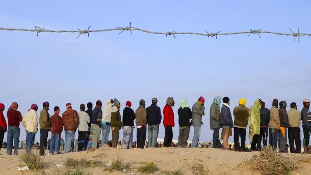 Schlimme Zustände in libyschen Flüchtlingslagern