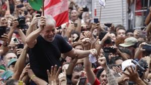Lula ruft zur Mobilisierung gegen die Regierung auf
