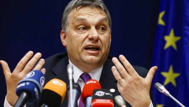"""Orbán: """"Vielleicht ist unser Platz nicht in der Volkspartei"""""""