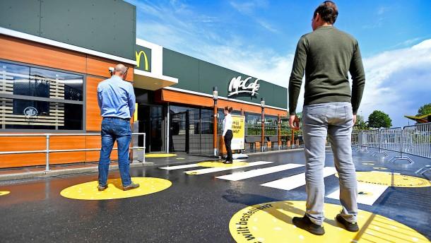 McDonald's hilft seinen Franchise-Nehmern