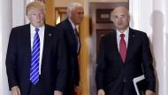 Trumps Fast-Food-Mann könnte im Senat scheitern