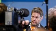 Aus der Deckung: Robert Habeck gilt vielen Grünen schon seit längerem als Mann der Zukunft