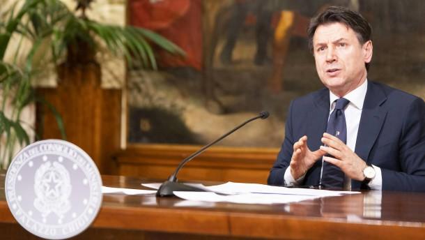 Italien kündigt Lockerungen der Corona-Auflagen an