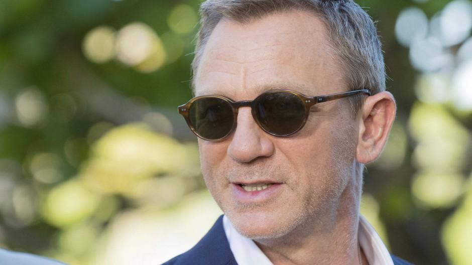 Daniel Craig hat Unfall bei Bond-Dreharbeiten