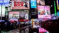 Hier gibt es alles und alles auf einmal: Der Times Square in New York City.