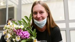 Russische Journalistin zu hoher Geldstrafe verurteilt