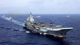 """Chinas neuer Flugzeugträger """"Liaoning"""""""