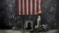 Screenshot des Gemäldes von Banksy, das Künstler auf seinem Instagram-Account veröffentlichte.