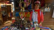 Langhals-Frauen kehren nach Myanmar zurück