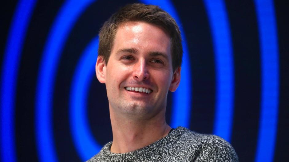 Der Snapchat-Gründer Evan Spiegel auf der Digitalkonferenz DLD am 19.01.2020 in München