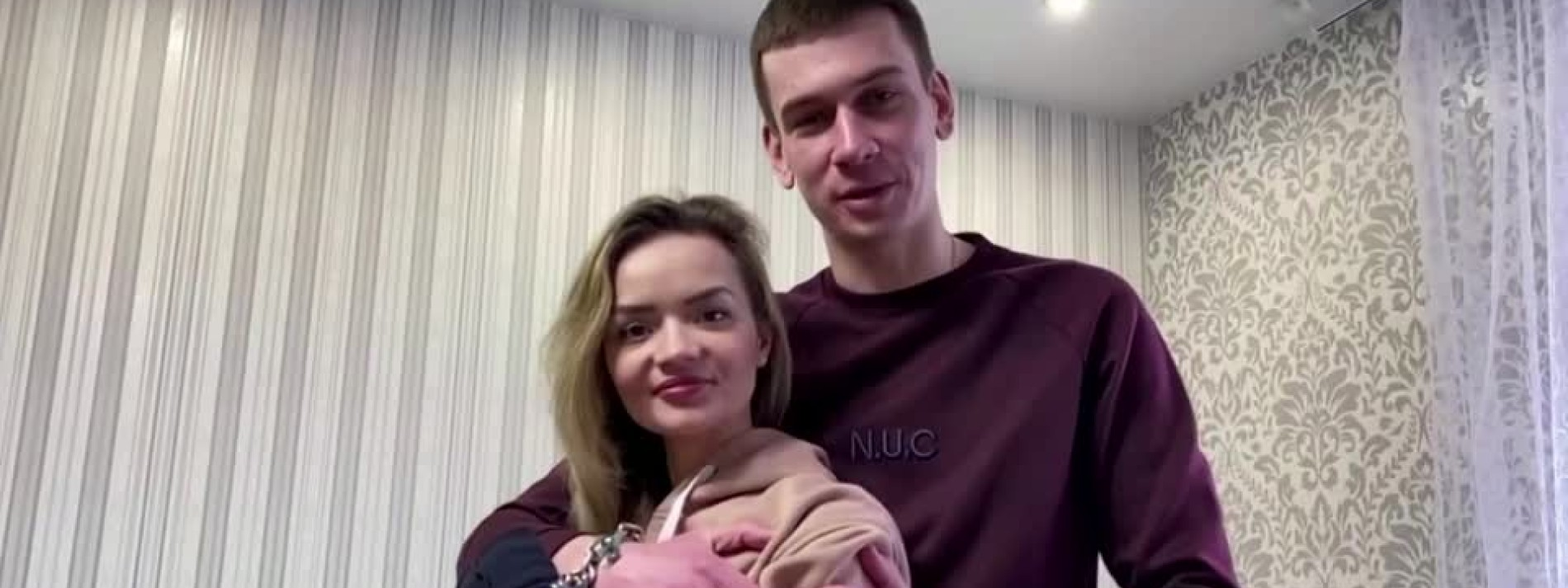 Ukrainisches Paar will mit Handschellen Beziehung retten