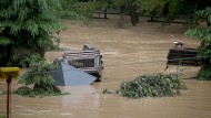 Massiv zerstört: Der Eifel-Zoo bei Lünebach bleibt vorerst geschlossen.