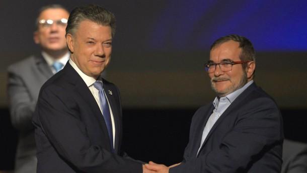 Neues Friedensabkommen für Kolumbien unterzeichnet
