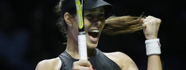 Lady in Black: Ana Ivanovic gewinnt zwei von drei Matches und scheidet dennoch aus