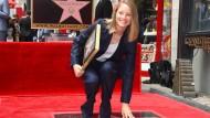 Star mit Stern: Jodie Foster auf dem Walk of Fame