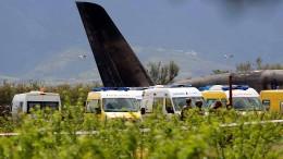 Viele Tote nach Flugzeug-Absturz in Algerien