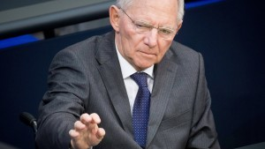 Schäuble: Gabriel sendet falsche Botschaft an Athen