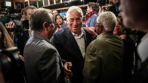 Regierende Sozialisten gewinnen in Portugal