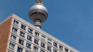 Berliner Mietendeckel soll weniger als 8 Euro betragen