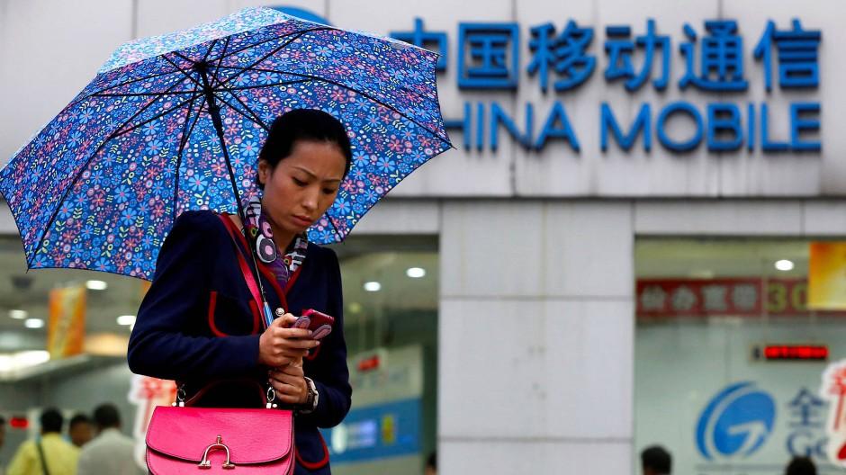 China Mobile ist der größte Telekommunikationsanbieter der Welt.