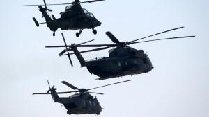 Alle 53 Bundeswehr-Kampfhubschrauber Tiger bleiben vorerst am Boden