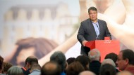 SPD-Chef Sigmar Gabriel in Berlin