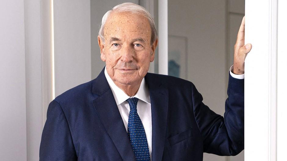 Der Unternehmer und Lufthansa-Aktionär Heinz Hermann Thiele