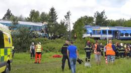 Tote und Verletzte nach schwerem Zugunglück in Tschechischer Republik