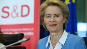 Sozialdemokraten stellen von der Leyen Bedingungen
