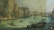"""Für Rilkes Malte ein """"schönes Gegengewicht der Welt"""": die historische Republik Venedig mit ihren Gondeln voll """"lohnender Ohnmacht"""": hier in einer Vedute von Canaletto aus dem Zwinger in Dresden"""