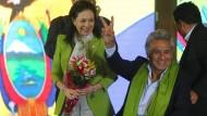 Moreno sieht sich als Sieger - Opposition fordert Nachzählung