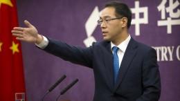 """China will Amerikas Forderungen """"sofort"""" umsetzen"""
