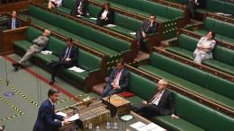 Mehrheit im britischen Unterhaus für Johnsons Binnenmarktgesetz