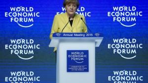 Merkel: Die EZB ist unabhängig